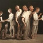 A Cappella - 2015 - huile sur toile 116x81cm