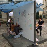 14Z'Arts 2016 - Quand Julie et Lucie dessinent...Guillaume Larroque peint et...