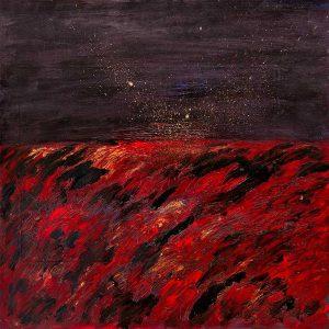 """3Les vagues"""" V Woolf - planche 9 - Livre d'artiste"""