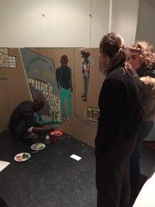 Sara Domenach : un  travail collaboratif