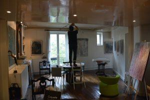 Installation :  lumière trouvée par Michel Carmona