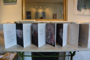 Livre d'artiste : poèmes de Samuel Beckett