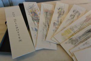 Livre d'artiste :  Don Quichotte