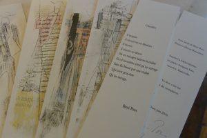 Livre d'artiste :  Don Quichotte - texte R Pons