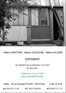 hélène crettien Cartond'invitation Juin 2017