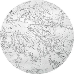Cartographie de geste, 2015 relevés de taches obtenues