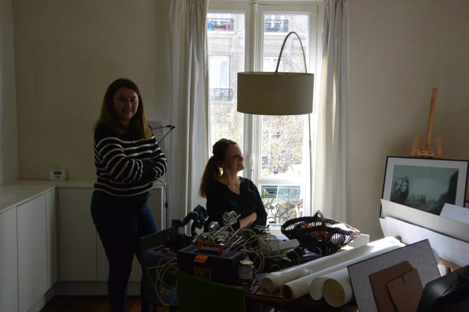 Installation - Cloé Bourguignon  et Marie Hélène Plancher