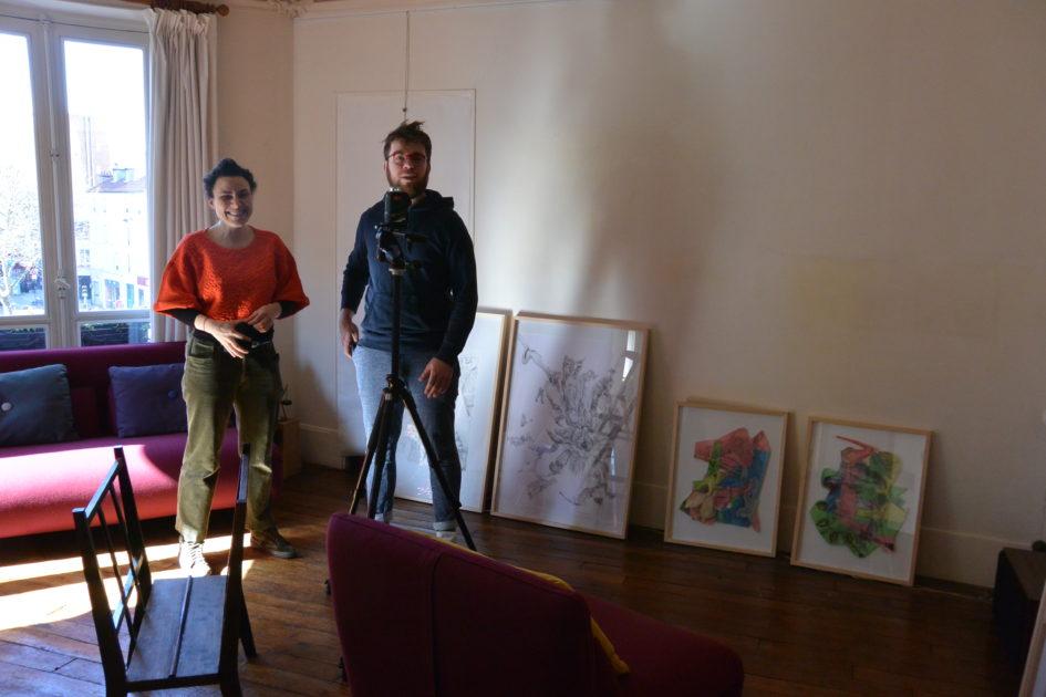 Installation - C Eichhorn et  JQNUS (Gentien Arnault)