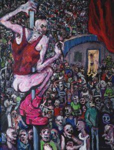 Les mots et les choses, acrylique sur toile, 146x196cm, 2015