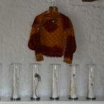 Sculptures A Perbal  et Chemise  laine Mauritanie E Debono
