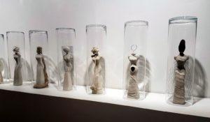 """Manta drama""  sculptures"