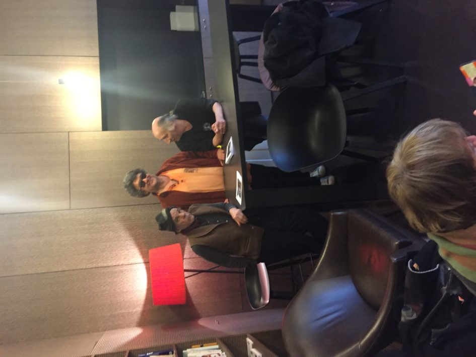 Denis Lavant, Ahmed Belbachir, Olivier Apert
